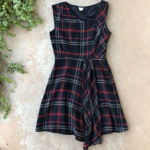 Anthropologie Plaid Perthshire A-Line Dress